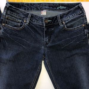 Ladies Silver Jeans - Size 30/33